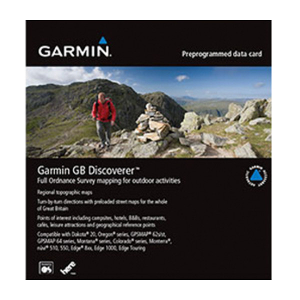 Garmin GB Discoverer 1:25k - Lake District
