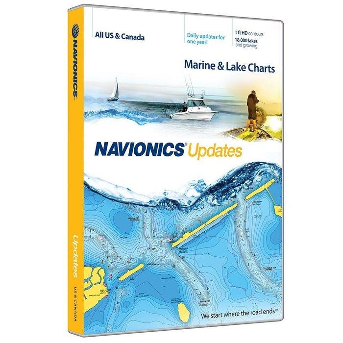 Navionics Update Micro-sd kort